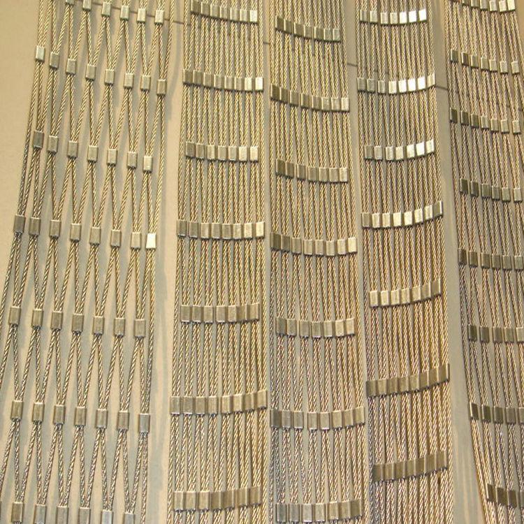不锈钢钢丝绳网应用
