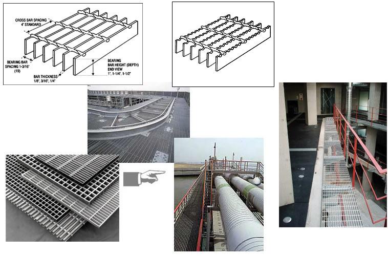 钢格栅板应用